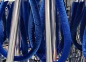 Balaustres terciopelado  de varios colores y precio de de fabrica, stock disponible