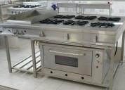 Mesas y cocinas en acero inoxidable