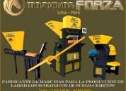 MÁquinas manuales y automaticas para ladrillo modulares