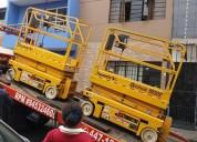 Venta ,alquiler y reparacion de elevadores tipo tijera 981379192