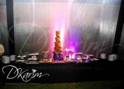 Alquiler de piletas y cascadas de chocolate, ideal para eventos sociales de todo tipo