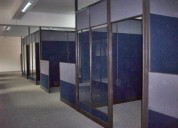 Fabricamos paneles divisiones de oficinas