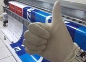Impresión de vinil, banner alta resolución 1440 dpi - instalaciones