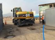 Alquiler y venta de excavadoras sobre llantas/orugas 4252269