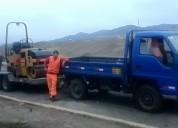 Servicio de transporte de maquinaria pesada con cama baja en todo lima 425269/997470736