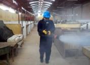 Profesionales en fumigacion de almacenes, granos almacenados, sacos de harina, arroz, lotes de maiz