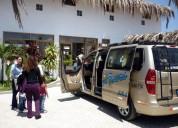 Servicio de movilidad y recojo, traslado en taxi y minivan en piura para mancora y vichayito