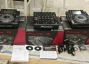 2x pioneer cdj-2000 nexus plus 1 djm-900 nexus mezclador