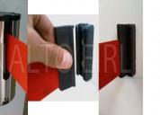 Cassette con cinta retractil + gancho receptor (para pared)