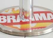 Ordenador de cola con cinta retractil - base con publicidad
