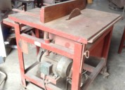 Remato sierra circular para carpinterÍa en optimas condiciones