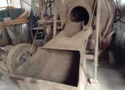 Vendo mezcladora de concreto de tolva 7p3 con poco uso