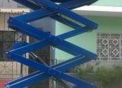 Venta y alquiler de elevadores hidráulico tipo tijera en lima 6 y 8 metros altura 4252269/997470736