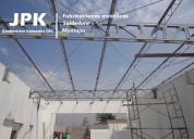 Montaje y desmontaje de estructuras metalicas