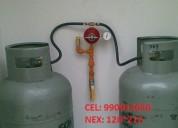 Instalaciones de redes de gas glp