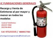 Fumigaciones casas extintores recargamos  3373968 . 977678434