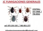 Fumigaciones pulgas acaros chinhes  3373968  ,  977678434