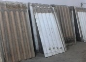 venta de claminas de eternit  de segunda 981379192