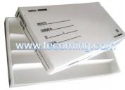Cajas portatestigos de material carton plast