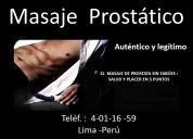 Masaje prostatico lima sensaciones internas en el punto g