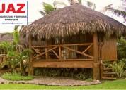 Casas, cabaÑas y mobiliario en bambu, chiclayo, jaen, bagua, chachapoyas
