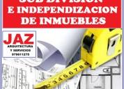 Sub divisiones e independizaciones, chiclayo, lambayeque, pimentel