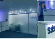 IluminaciÓn led oficinas - show room- mÓdulos de atenciÓn-modulo de ventas