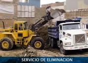 Demolición, eliminación de desmonte, excavación, afirmado y alquiler de maquinaria 4252269/997470