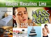 Masajes en lima para hombre por masajista masculino