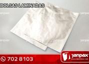 Bolsas laminadas- janpax