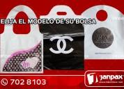 Bolsas de plástico con diseño - janpax