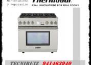 Servicio tecnico para cocinas thermador en lima metropolitana y callao