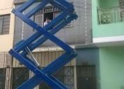 Venta , alquiler y reparaciones de elevador tipo tijera  997470736