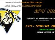 Necesitas un electricista en - surco, miraflores, san isidro? cel. 953-530-976