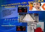 Sistemas de filas con servicio de replicador