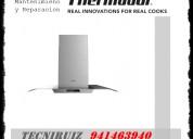 Campanas extractoras thermador servicio tecnico en lima