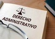 Abogado en derecho administrativo