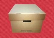 Cajas archivadoras de carton tapa separada