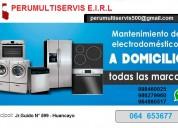 servicio tÉcnico de electrodomÉsticos perumultiservis