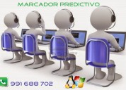 Marcador predictivo para call center