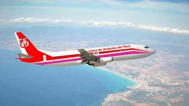 Cesareo VARGAS TRUJILLO, Forma 02 Aerolineas para el Peru,