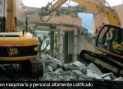 Demolición, eliminación de desmonte, excavación, afirmado 4252269/997470736