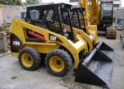 Alquiler y venta minicargadores bobcat y cat con o sin martillo  4252269/997470736