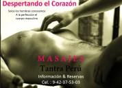 masajes para hombres por hombres a cuatro manos tantricos relajantes