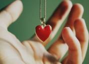 Coloco su corazón y su amor en tus manos en horas!