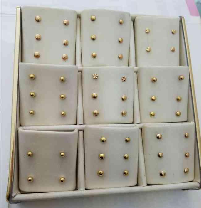 Ventas de joyas de oro y plata