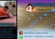 drywall construcciones - 930767871 -  lima