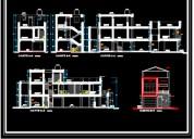 Vendo planos de viviendas, 1 piso, 2 pisos, 3 pisos, chiclayo, jaen, bagua grande