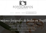 Fotógrafos de bodas trujillo perú