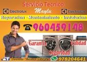 Secadoras, tecnico electrolux en surquillo, reoaracion.